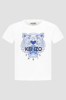 Kenzo Kids Baby Boys White T-Shirt