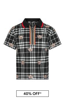 Burberry Kids Black Shirt
