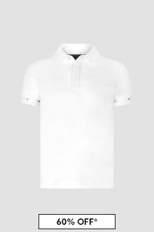 Emporio Armani White Polo Shirt