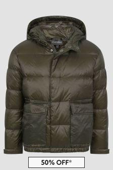 Emporio Armani Khaki Jacket