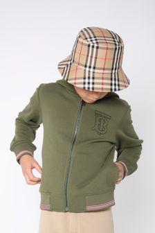 Burberry Kids Beige Hat