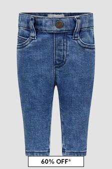 Emporio Armani Baby Boys Blue Jeans