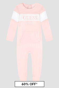 Guess Baby Pink Rompersuit