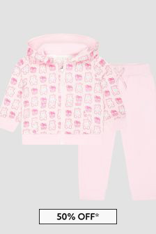 Guess Baby Pink Tracksuit