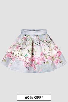 Monnalisa Girls Grey Skirt
