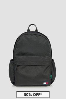 Tommy Hilfiger Boys Black Backpack