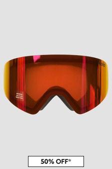 Molo Kids Black Ski Goggles