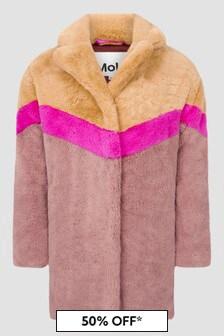 Molo Girls Brown Coat