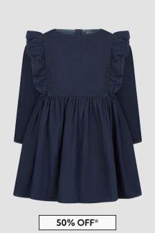 Molo Baby Girls Blue Dress