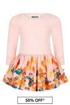 Molo Baby Girls Pink Dress