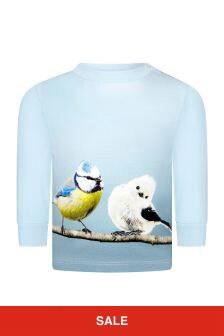 Molo 베이비 보이즈 블루 티셔츠