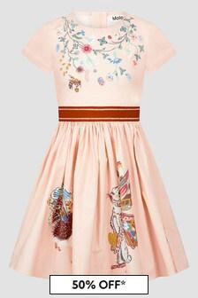 Molo Girls Pink Dress
