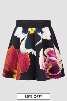 Molo Girls Black Skirt