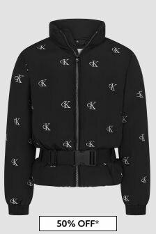 Calvin Klein Jeans Girls Black Jacket