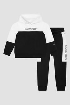 Calvin Klein Jeans Boys Black Tracksuit