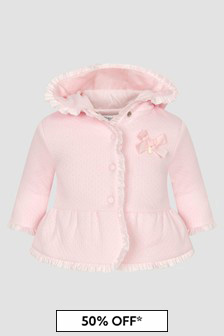 Patachou Baby Girls Pink Jacket