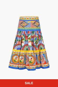 Dolce & Gabbana Kids Girls Multi Skirt