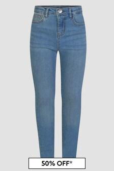 Levis Kidswear Girls Navy Jeans