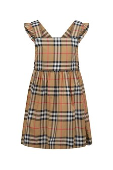 Burberry 키즈 걸스 빈티지 리비아 드레스