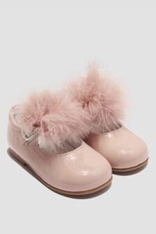 Andanines Girls Pink Pumps