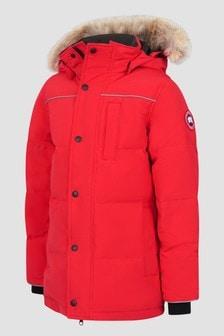 Canada Goose Kids Red Eakin Parka