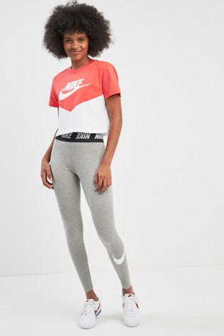 8fea0c129b784 Buy Nike Club Grey High Waist Legging from the Next UK online shop