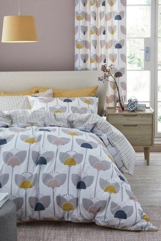 Buy Retro Tulip Duvet Cover And Pillowcase Set From Next Malta