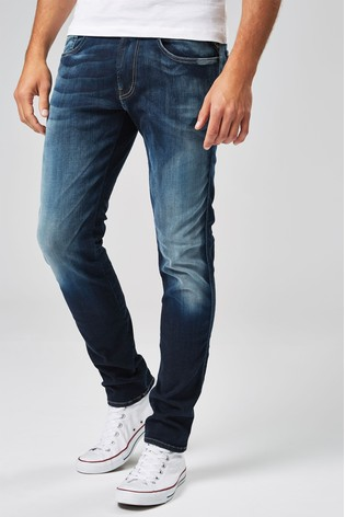 abcbfe12017e54 Buy Replay® Anbass Hyperflex Slim Fit Jean from Next Ireland