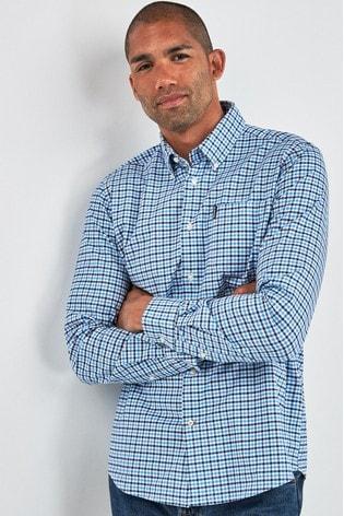 Barbour® Blue Gingham Shirt