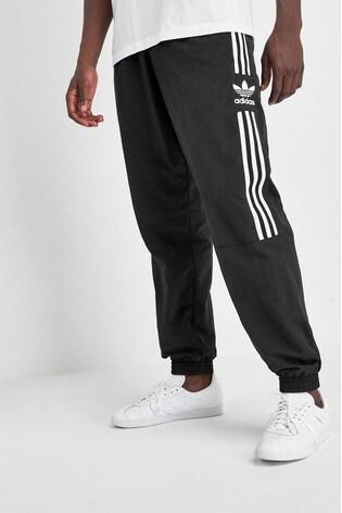 adidas Originals Black Lock Up Woven Track Pant
