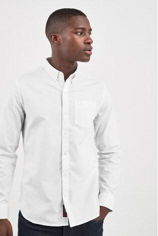 e4aa52a634 Superdry White Long Sleeve Shirt