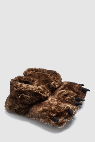 le prix reste stable nouveaux articles produits de commodité Brown Monster Foot Slipper