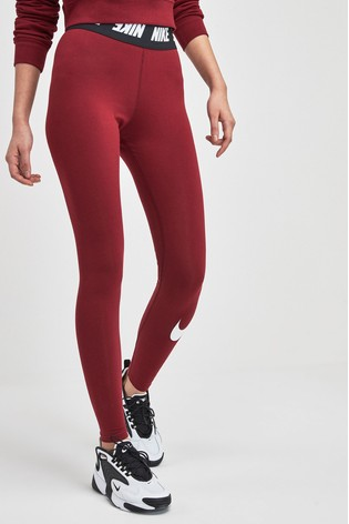 discount up to 60% latest design diversified in packaging Nike High Waist Futura Club Leggings