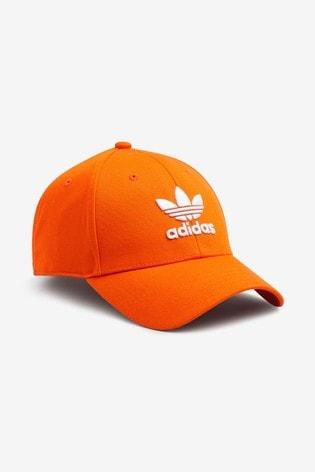 adidas Originals Classic Cap mit Dreiblatt Logo, Orange