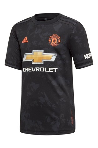 super popular 1408a 9b1cc Buy adidas Black Manchester United 2019/2020 3rd Jersey from ...