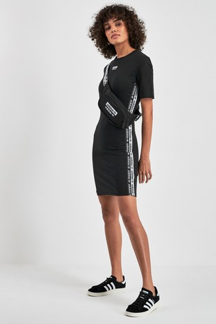 best prices sneakers for cheap first rate Kaufen Sie adidas Originals R.Y.V. T-Shirt-Kleid, schwarz ...