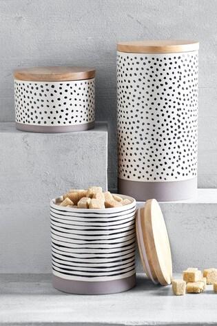 Arlo Ceramic Storage Jar by Next
