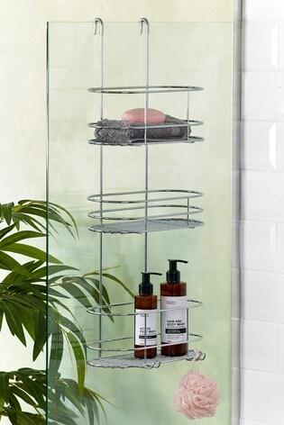 Over Door Two Three Bathroom Shower Shelves by Next