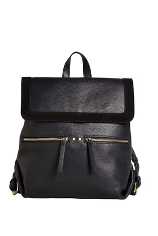Leather Rucksack by Next