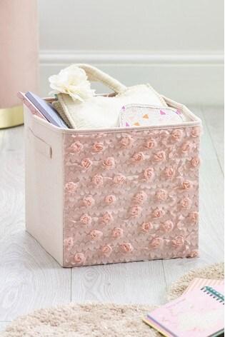 Rose Ruffle Storage Box by Next