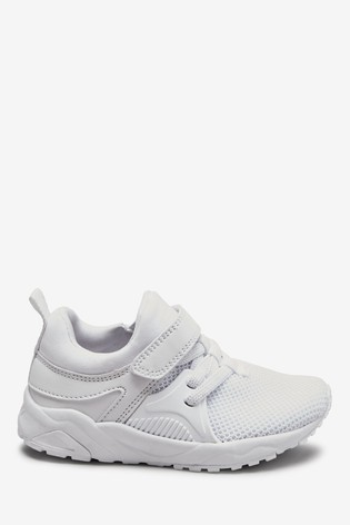 Elastic Lace Trainers (Younger) by Next