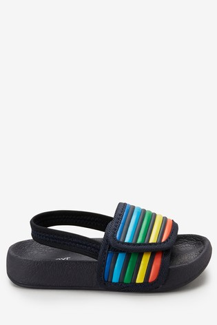 Rainbow Pool Sliders (Younger) by Next