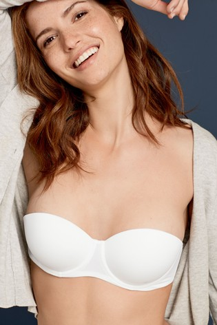 on sale best place for sale White Push-Up Multiway Bra