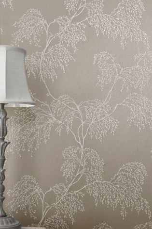 Buy Paste The Wall Frosty Twig Wallpaper From Next Ireland