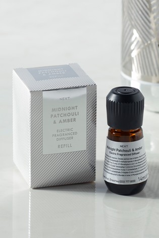 Midnight Patchouli & Amber Electric Diffuser Refill