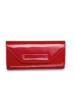 prix le plus bas expédition de baisse bien connu Red Patent Clutch Bag