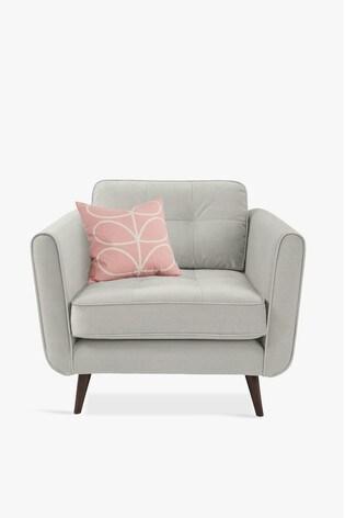 Orla Kiely Ivy Chair with Walnut Feet