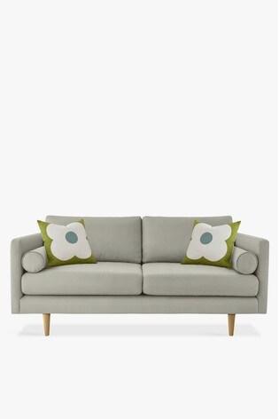 Orla Kiely Mimosa Medium Sofa with Oak Feet