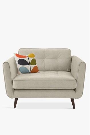 Orla Kiely Ivy Snuggle Sofa with Walnut Feet
