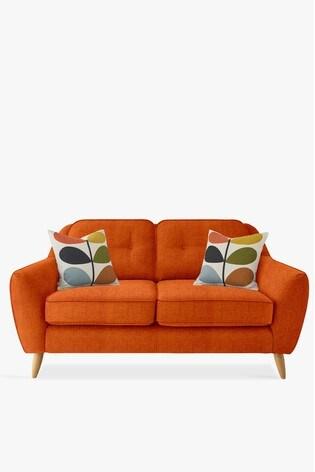 Orla Kiely Laurel Small Sofa with Oak Feet